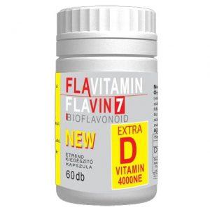 Flavin7 Flavitamin D-vitamin - 60db