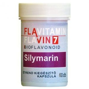 Flavin7 Flavitamin Sylimarin kapszula - 60db