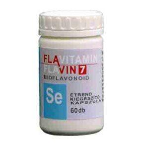 Flavin7 Flavitamin Szelén kapszula - 60db