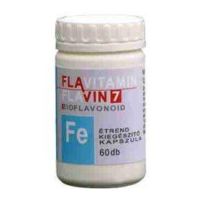 Flavin7 Flavitamin Vas kapszula - 60db