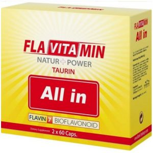 Flavitamin Nature+Power All in kapszula - 2x60db