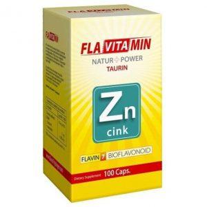 Flavitamin Nature+Power Cink kapszula - 100db