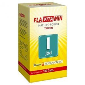 Flavitamin Nature+Power Jód kapszula - 100db