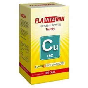 Flavitamin Nature+Power Réz kapszula - 100db