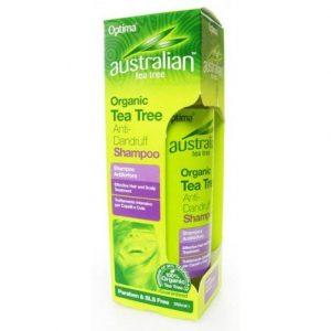 Optima Ausztrál Teafa korpásodás elleni sampon - 250ml