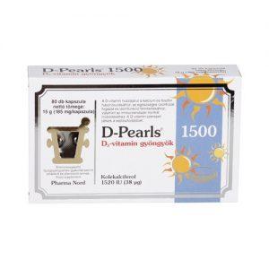 Pharma Nord Bio D-vitamin 800NE gyöngyök - 80 db