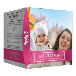 Herba-D D3-vitamin 2000NE csepp (90 napi adag) csepp – 20ml