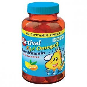 Béres Actival Kid Omega3 gumivitamin - 30db