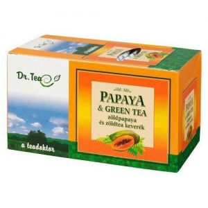 Zöldvér papaya + zöld tea - 20filter