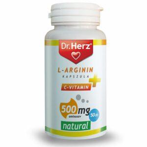 Dr. Herz L-Arginin + C-vitamin 500mg kapszula - 50db