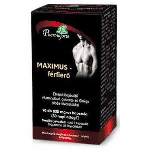 Maximus férfierő kapszula - 90db