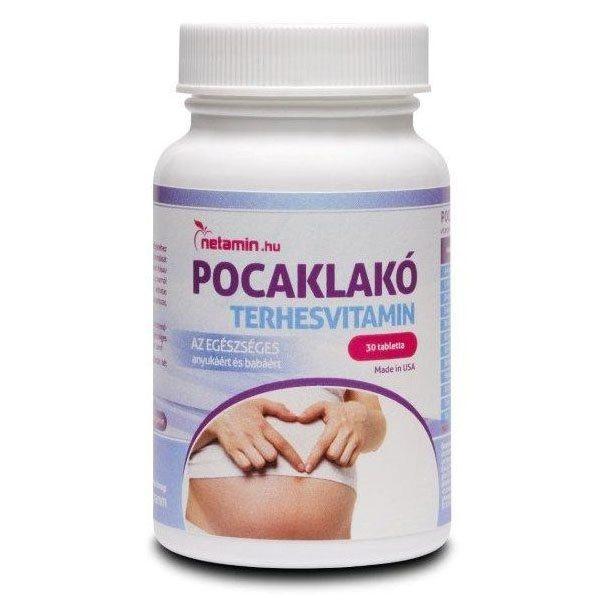 Netamin Pocaklakó terhesvitamin - 30db