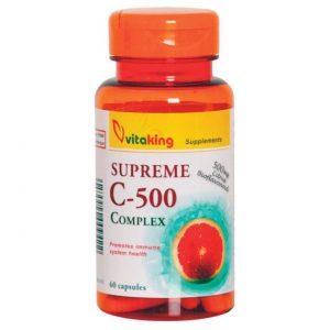Vitaking Supreme C-500 Complex kapszula - 60db