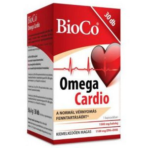 BioCo Omega Cardio kapszula - 60db