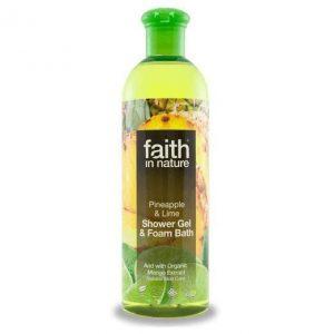 Faith in Nature Ananász-Lime hajkondícionáló - 400ml