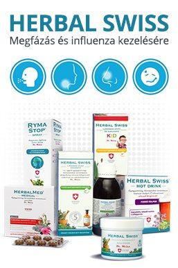 Herbal Swiss megfázás és influenza kezelésére