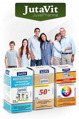 Jutavit multivitaminok az egész családnak