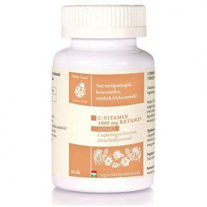 Natur Tanya C-vitamin 1000mg RETARD+D3+K2-vitamin tabletta - 60db