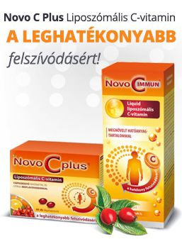 Novo C Plus liposzómás C-vitaminok