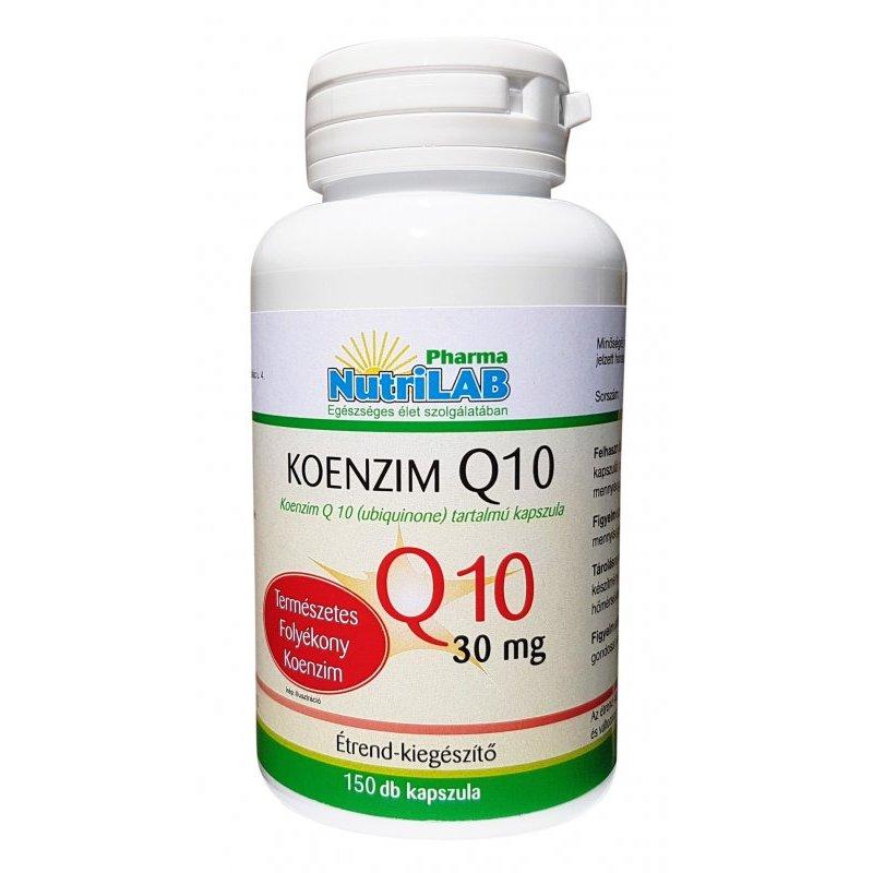 ubiquinone magas vérnyomás esetén)