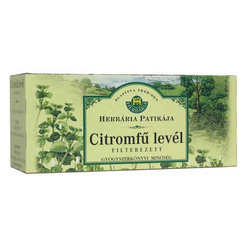 herbária citromfű tea vélemény magas vérnyomás ödéma vesebetegség